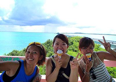 宮古島のダイビング風景4