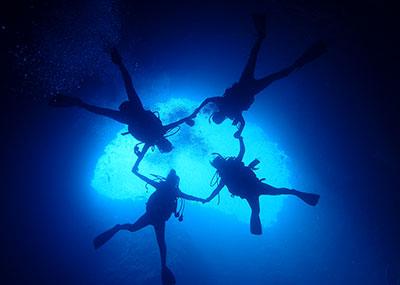 パラオのダイビング風景3
